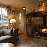 Sitting Room Fireplace Market Keepers Cottage